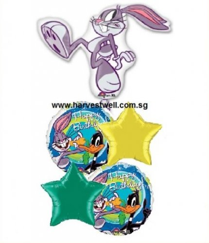 Bug Bunny Birthday Party Balloon Package