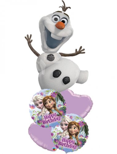 Olaf Frozen Happy Birthday Balloon Package
