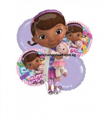 Doc McStuffins Happy Birthday Balloon Package