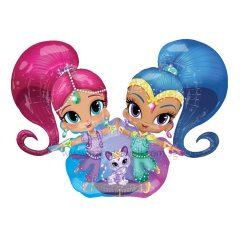 Shimmer and Shine Super Shape Airwalker