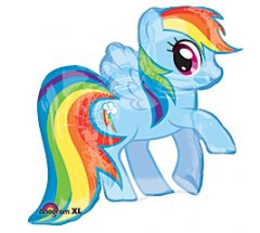 My Little Pony Super Shape Mylar Balloon