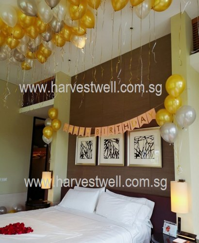 Balloon Everywhere Bedroom Decoration Package