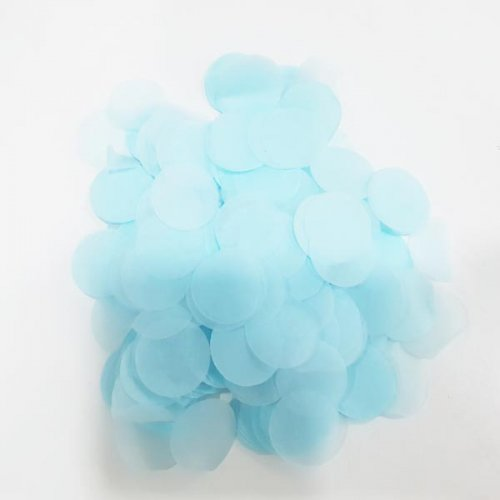 Tiffany Blue Tissue Confetti