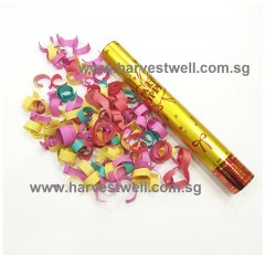 Medium Size Party Popper with Colourful Confetti