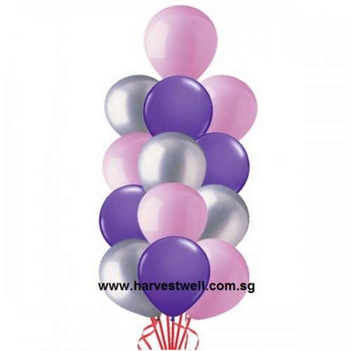 Helium Latex Balloon Column