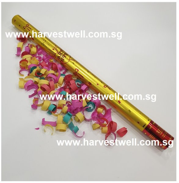 Large Size Party Popper with Colouful Confetti