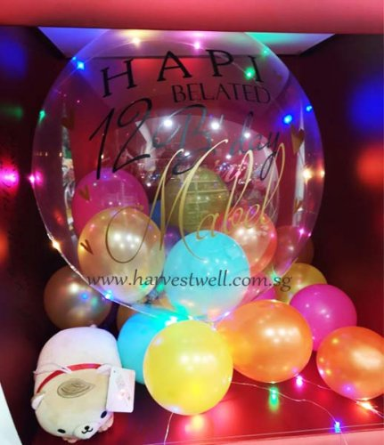 Customize Surprise Box Signature Bubble Balloon