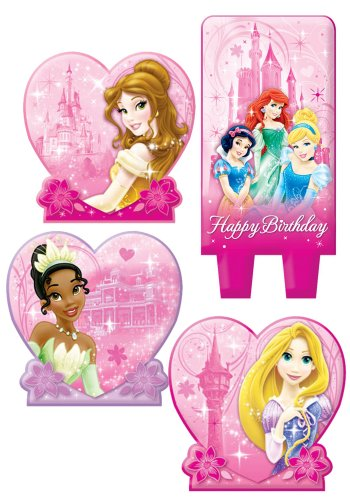 Disney Princess Group Birthday Candle Set