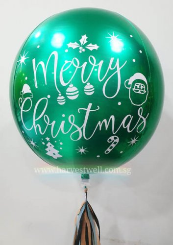 Christmas Customize ORBZ Balloon