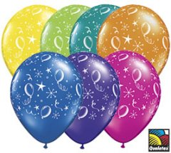 Party Balloons-A-Round Helium Latex Balloon