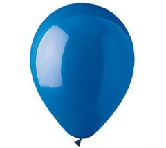 Dark Blue Helium Latex Balloon