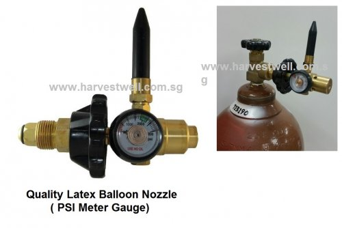 Helium Tank Latex Balloon Nozzle