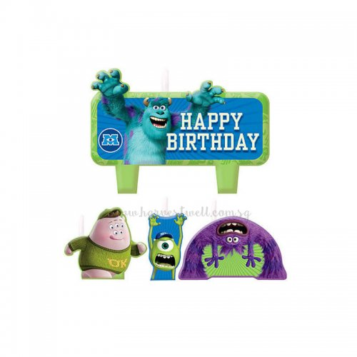 Monsters University Birthday Candle Set