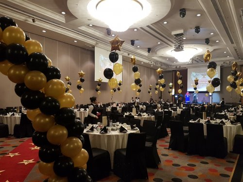 Balloon Decoration for Hotel Ballroom