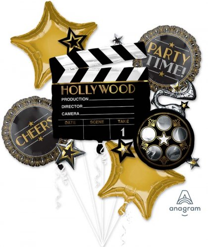 Lights Camera Action Balloon Package