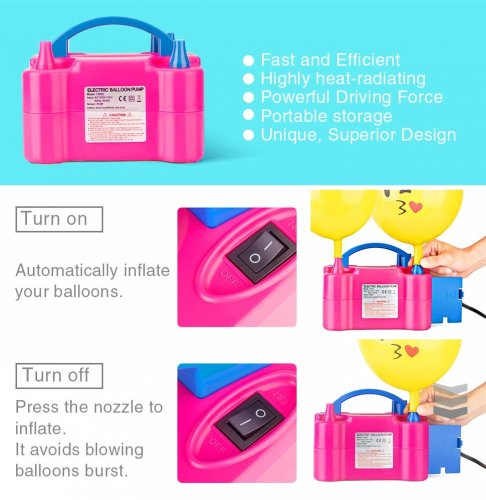 Electronic Balloon Air Pump Rental