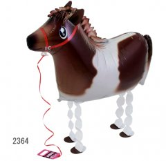 Walking Pet Animal Balloon - Pony