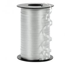 Silver Curling Ribbon Roll