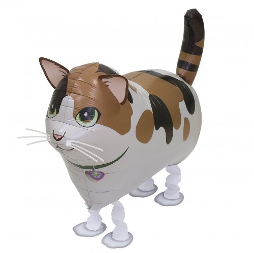 Walking Pet Cat Balloon - Calico (Mike Chan)