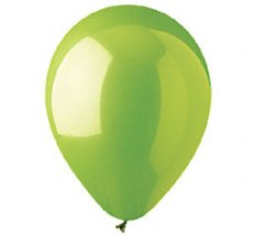 Lime Green Colour Helium Latex Balloon