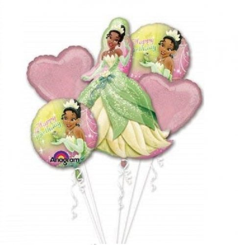 Disney Princess Tiana Princess & Frog Balloon Package
