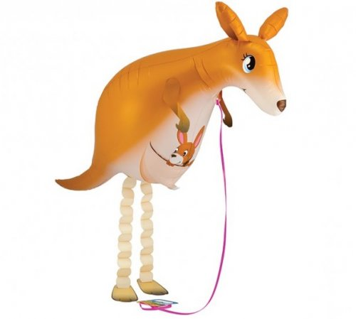Walking Pet Animal Balloon - Kangaroo