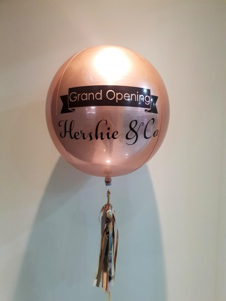Customize Grand Opening ORBZ Balloon