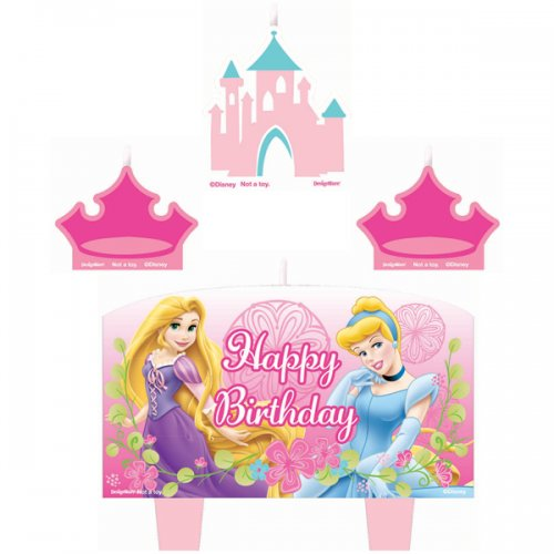 Disney Princess Delight Birthday Candle Set