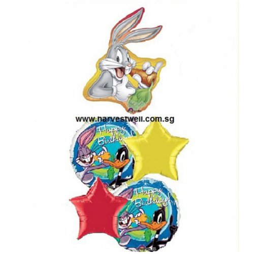 Bug Bunny Party Time Balloon Package