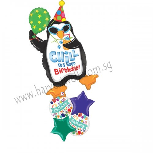 Chill It's Your Birthday Balloon Package