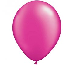 Fuschia Colour Helium Latex Balloon