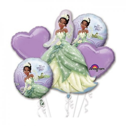 The Princess & The Frog Balloon Bouquet