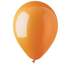 Orange Colour Helium Latex Balloon