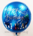 Customize HBD with Cake Balloon