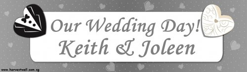 Wedding Mr & Mrs Customized Banner