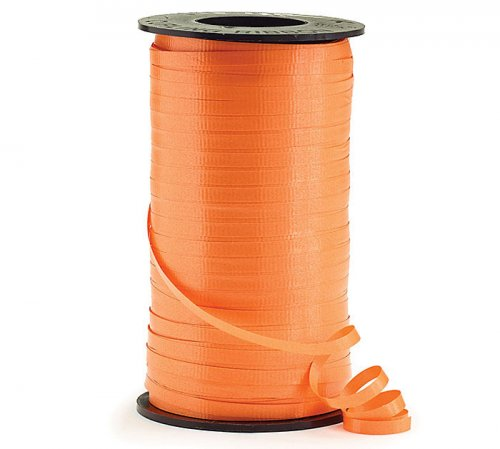 Orange Curling Ribbon Roll