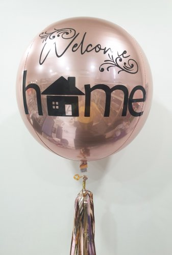 Welcome Home Orbz Balloon