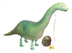 Walking Pet Dinosaur Balloon - Super Sauras