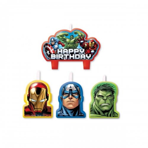 Avengers Assemble Birthday Candle Set