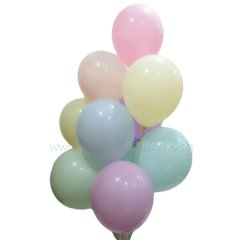 Assortment Pastel Macaron Helium Latex Balloon