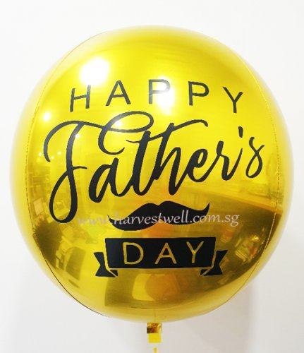 Customize Father Day ORBZ Balloon