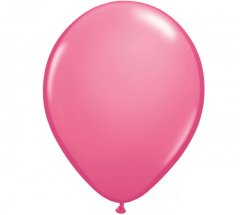 Rose Colour Helium Latex Balloon