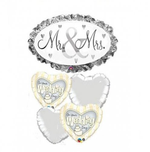 Mr & Mrs Balloon Package