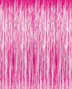 Pink Metallic Foil Tinsel