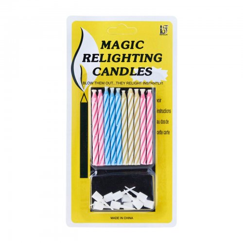 Magic Relighting Candles