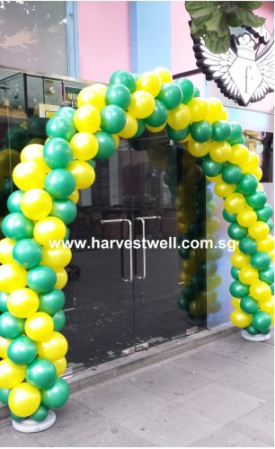 Spiral Balloon Arch (2 Colour Theme)