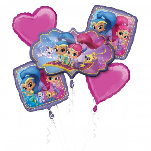 Shimmer and Shine 2 Balloon Bouquet