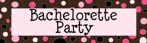 Bachelorette Party Customized Banner