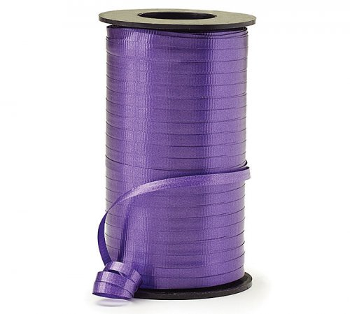 Purple Curling Ribbon Roll