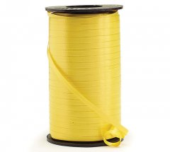 Yellow Curling Ribbon Roll